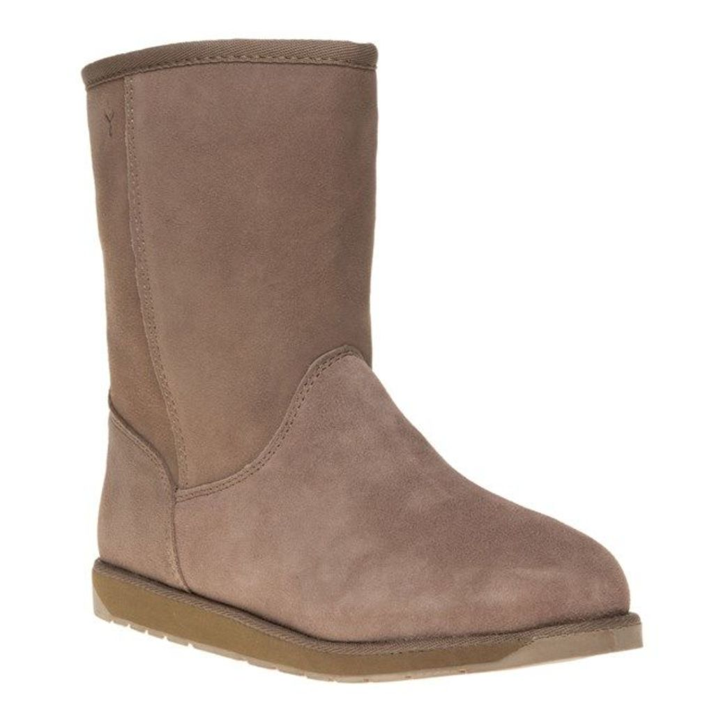 Emu Spindle Boots, Mushroom