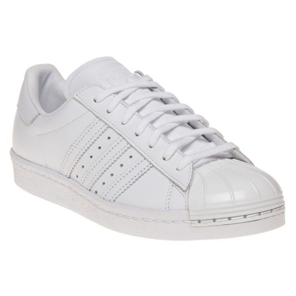 adidas Superstar 80's Metal Toe Trainers, Ftwr White