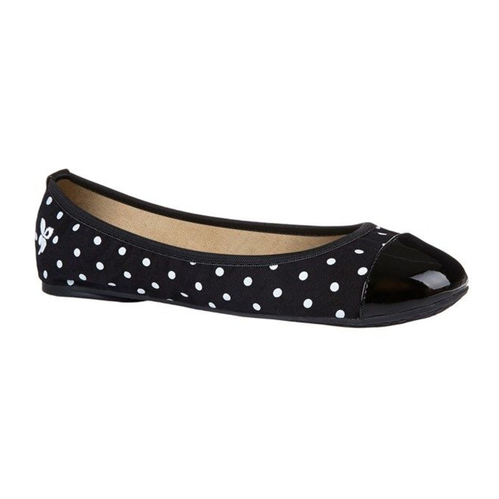 Butterfly Twists Kate Shoes, Black/White