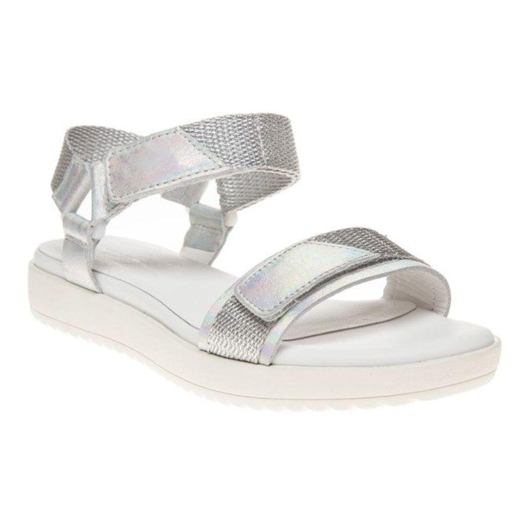Vagabond Flora Sandals, Grey