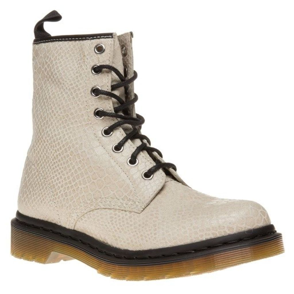 Dr Martens 1460 Boots, Off White