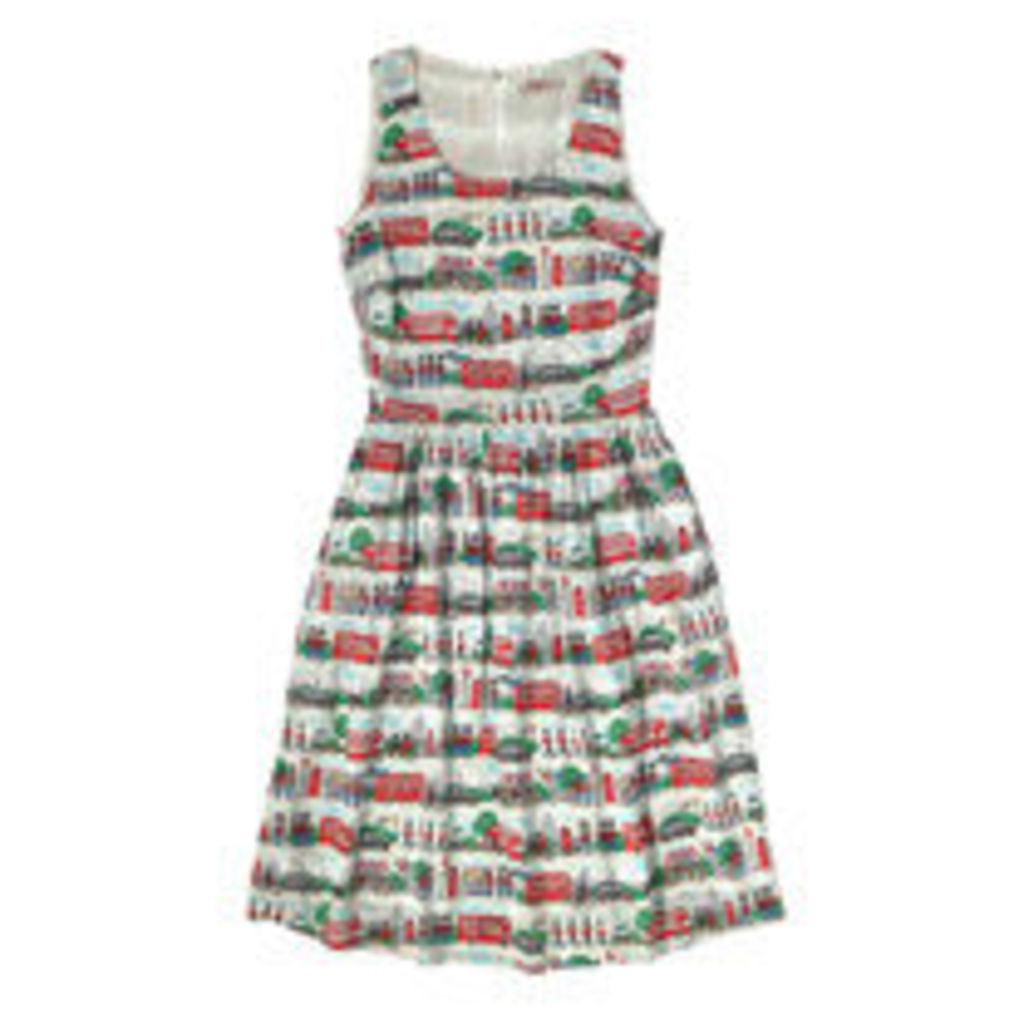 London Streets Viscose Sleeveless Dress