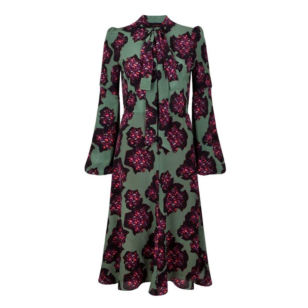 Ellie Lines - Julia Deia Shine Print Dress