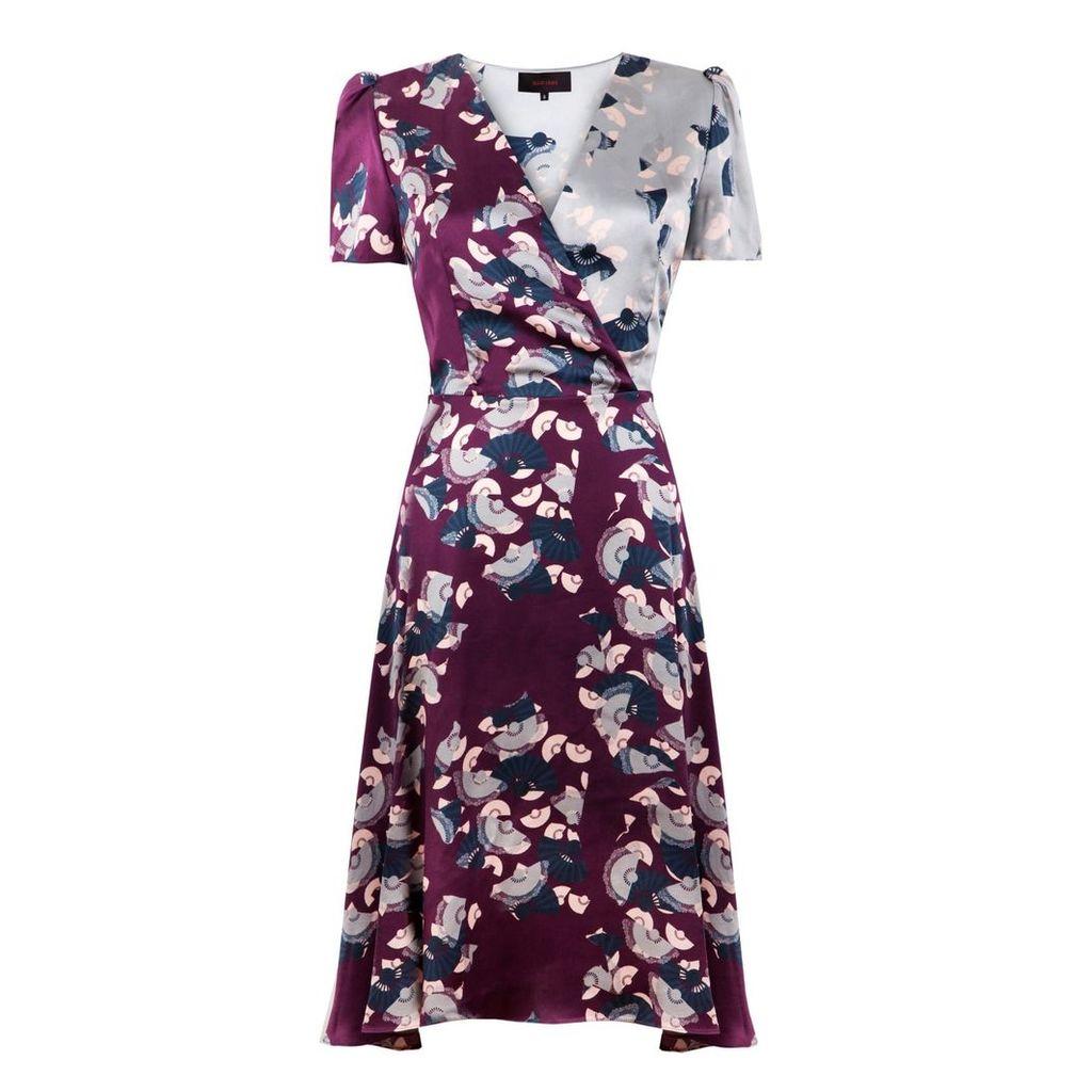 Ellie Lines - Liz Deia Vine Print Dress