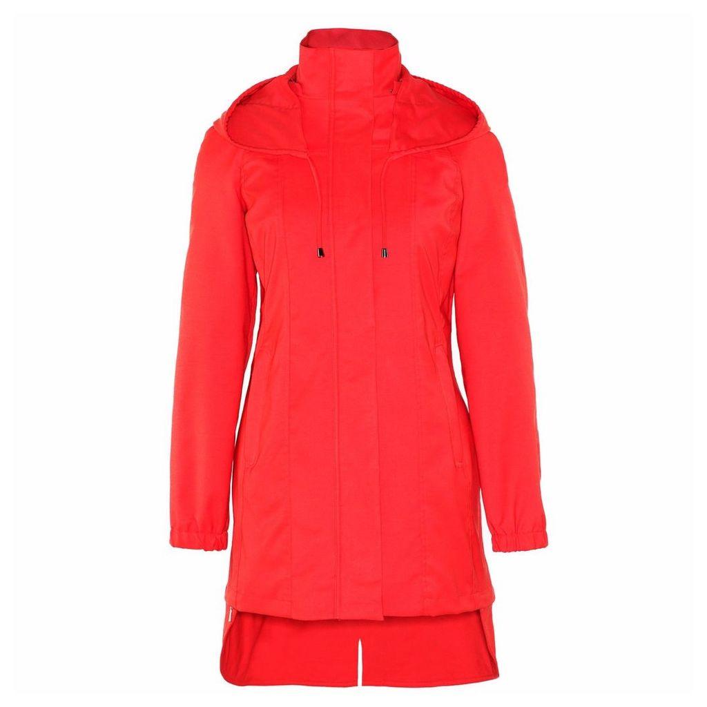 Ducktail Raincoats - Women's Orange Tail Raincoat