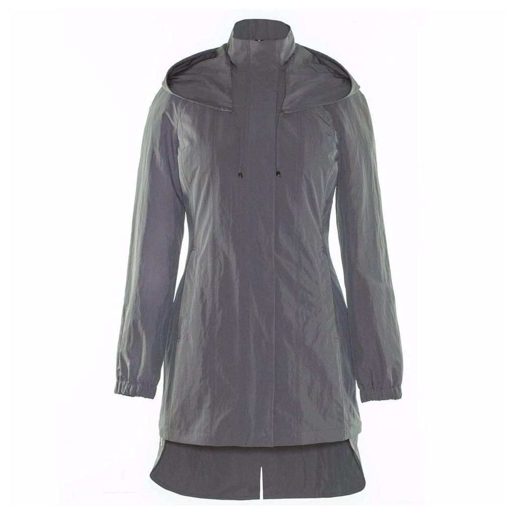 Ducktail Raincoats - Women's Taupe Tail Raincoat