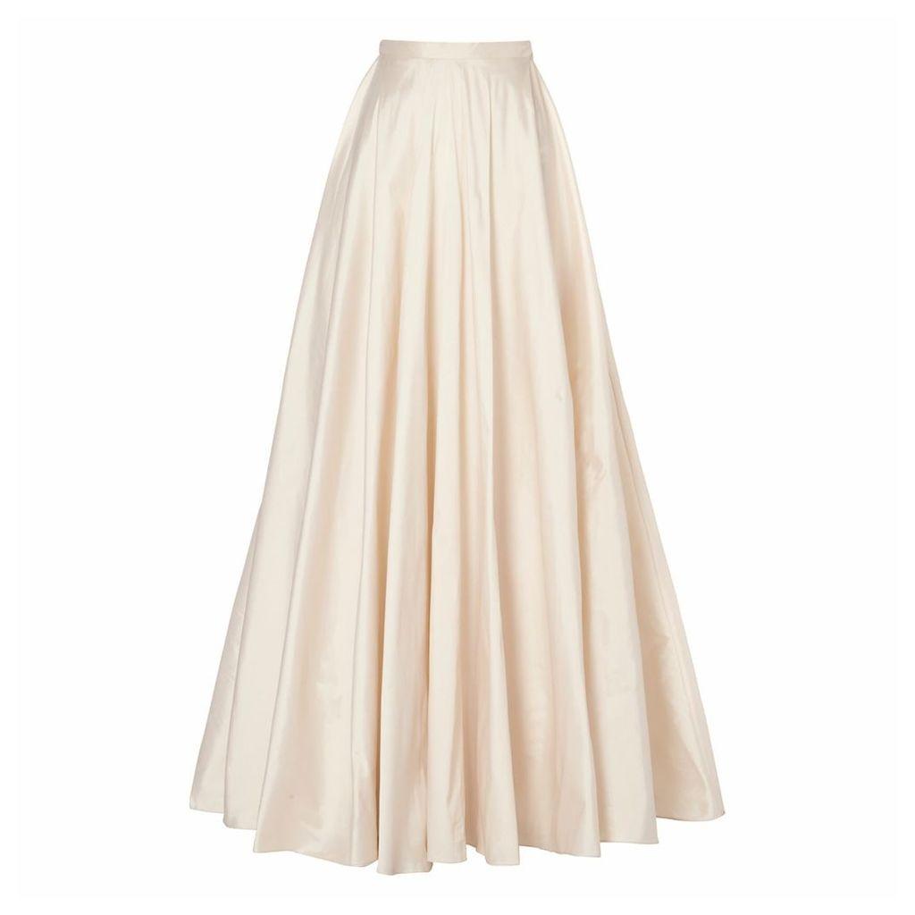 Raishma - Blush Taffeta Full Skirt