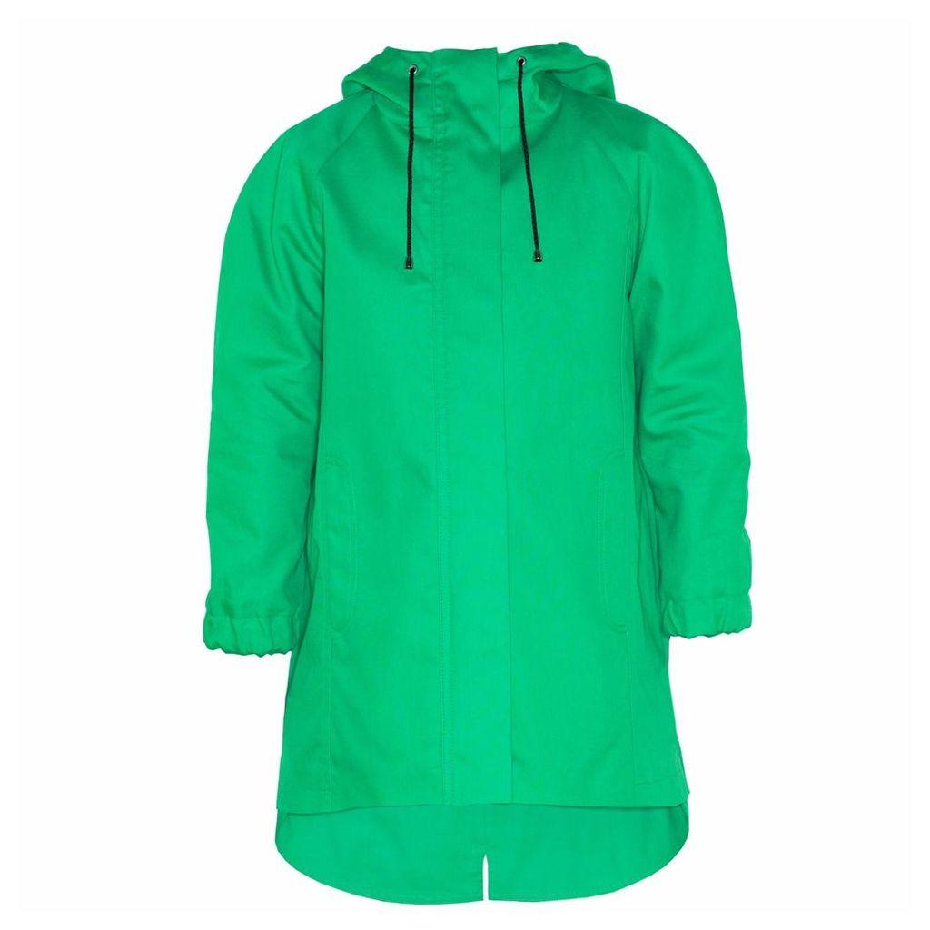 Ducktail Raincoats - Children's Green Tail Raincoat