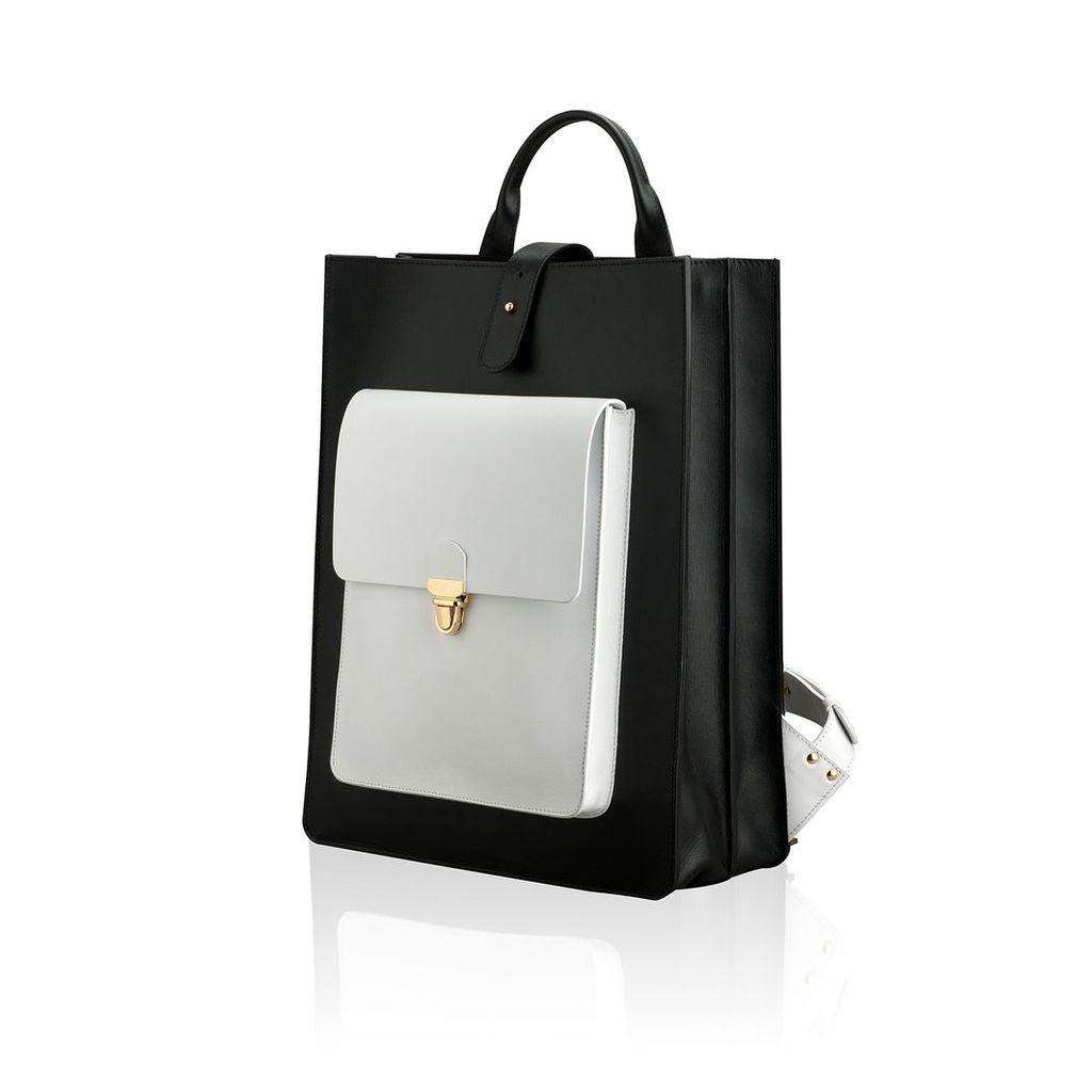 JUREKKA - Newschool Black & White Backpack