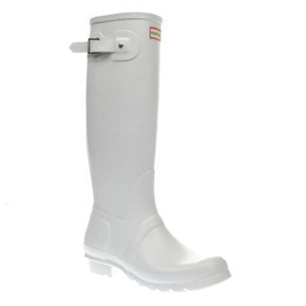 Hunter White Original Tall Womens Boots
