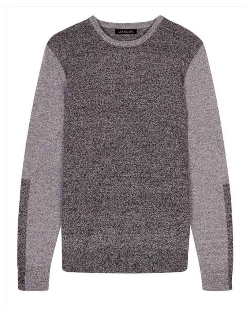 Lambswool Colour Block Sweater