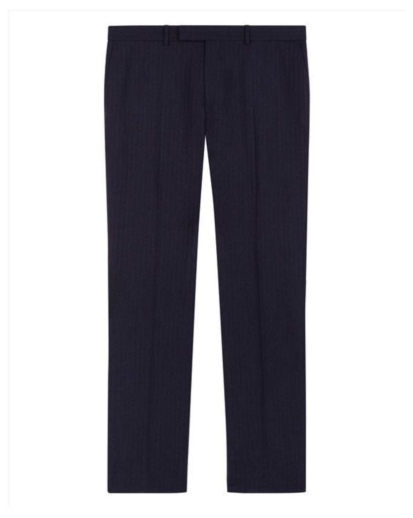 Super 130s Regular Trousers