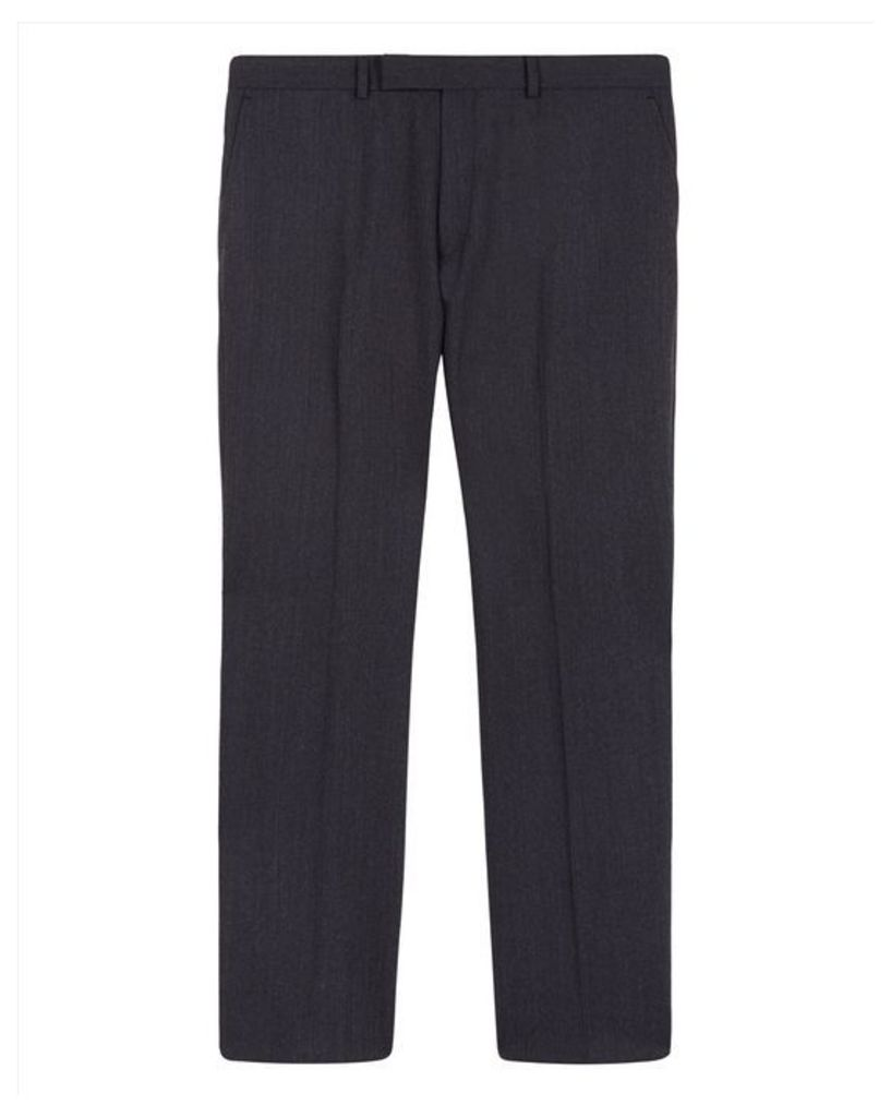 Pinstripe Regular Trousers
