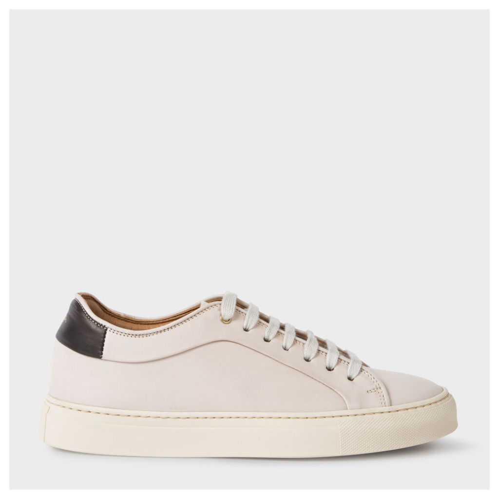 Women's Off-White Calf Leather 'Basso' Trainers