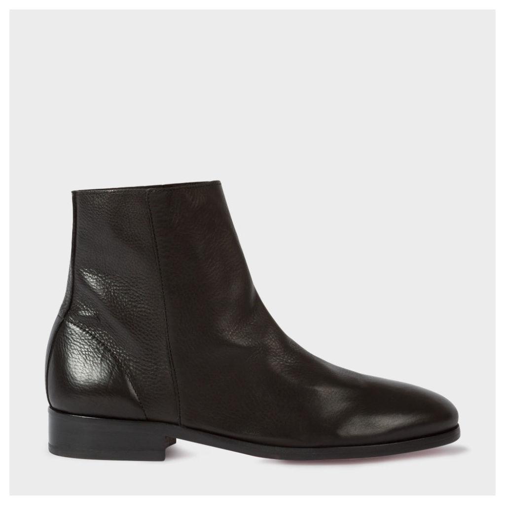 Women's Black Leather 'Brooklyn' Boots
