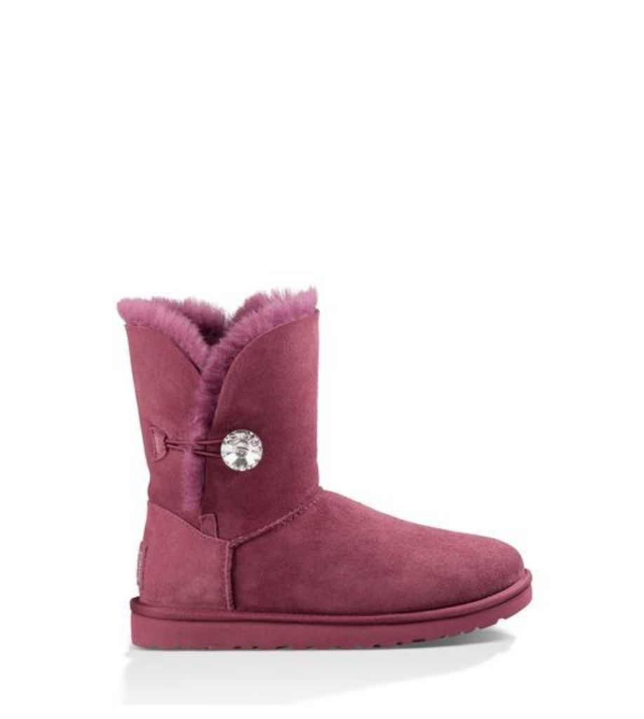 UGG Bailey Button Bling Womens Boots Bougainvillea 4