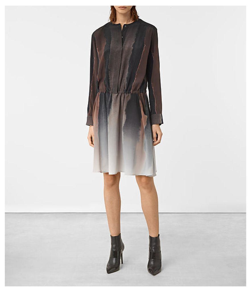 Leevia Cosmos Silk Dress