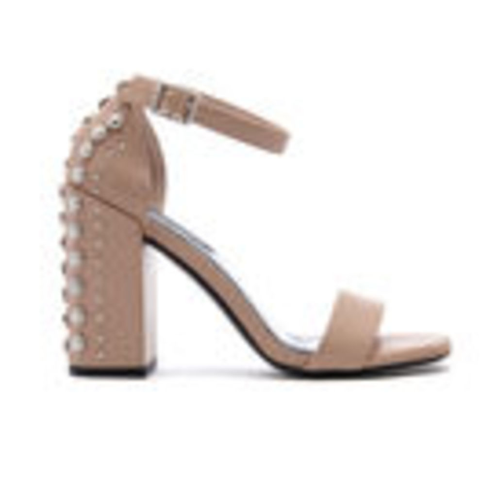 Senso Women's Leila Suede Barely There Heeled Sandals - Caramel - UK 3