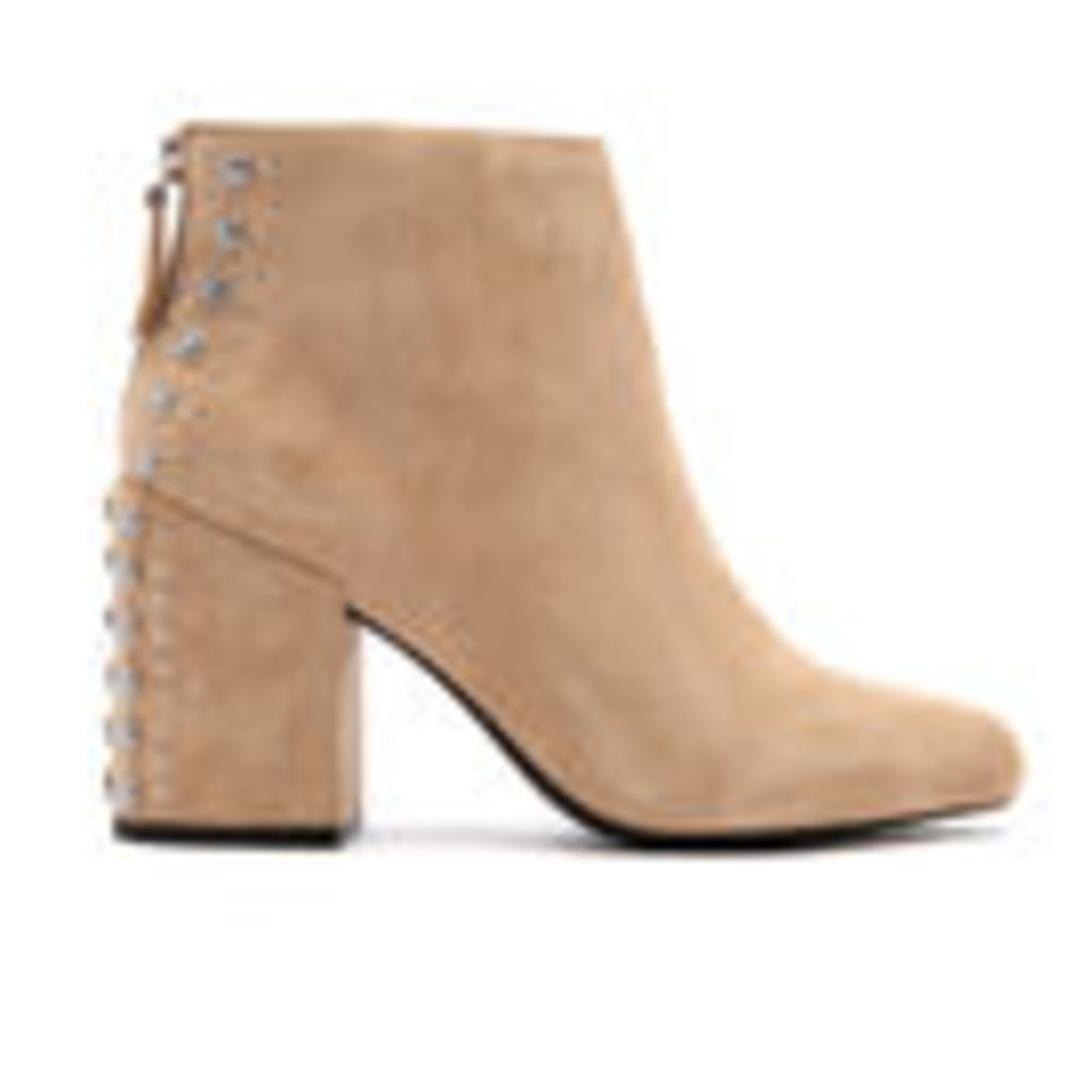 Senso Women's Jescinta II Suede Heeled Ankle Boots - Sand - UK 6