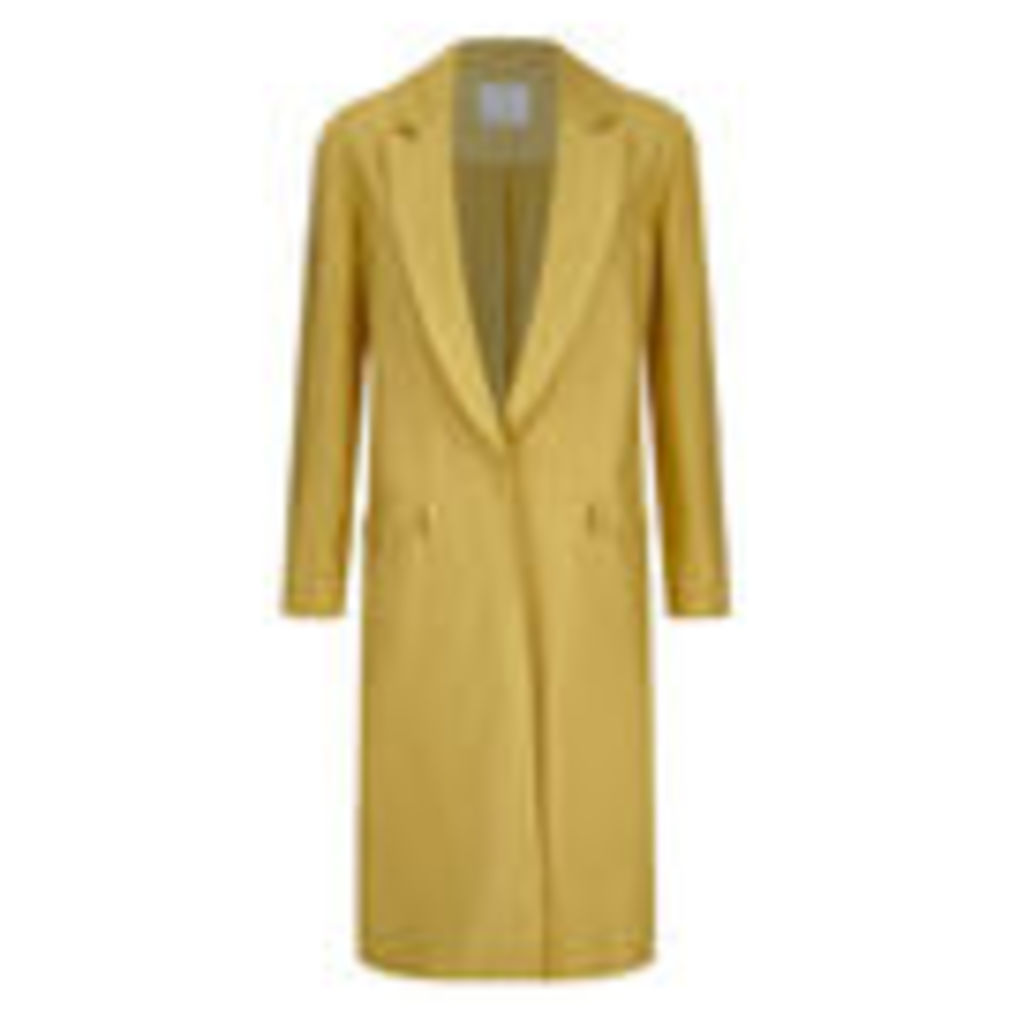 C/MEO COLLECTIVE Women's Golden Age Trench Coat - Gold - M/UK 10