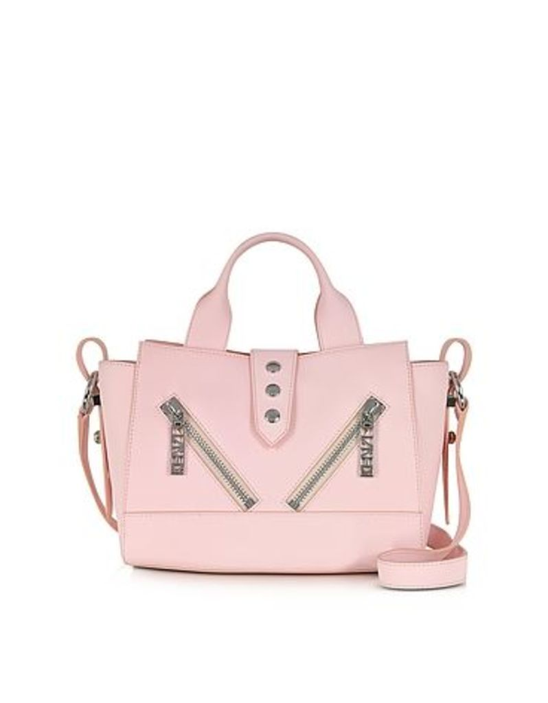 Kenzo - Mini Kalifornia Rose Gommato Leather Handbag