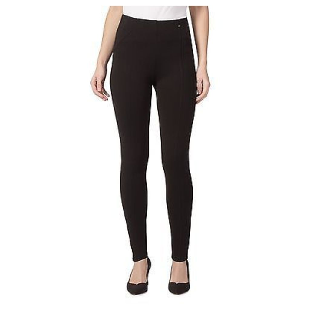 Principles Petite By Ben De Lisi Womens Black Slim And Trim Petite Leggings