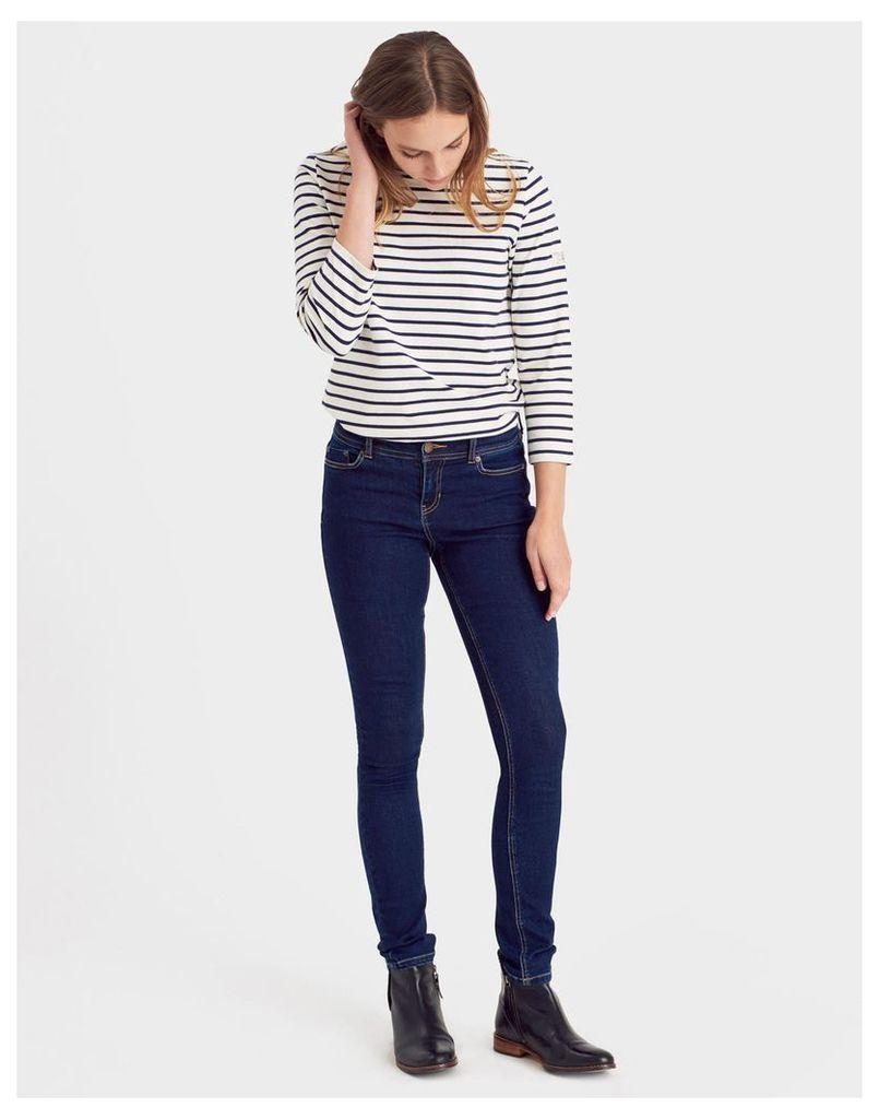 Dark Indigo Monroe Skinny Jeans  Size 12   Joules UK