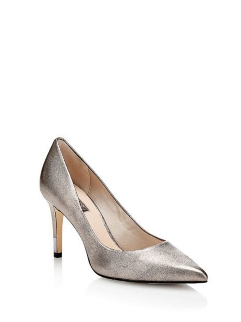 Guess Ele Leather Court Shoe