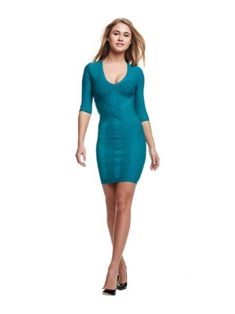 Marciano Guess Marciano Dress With 3/4 Sleeves