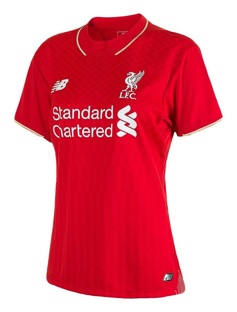 New Balance LFC Womens Coutinho Home No Patch SS Jersey Women's Coutinho WSTW50010N