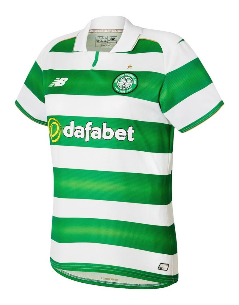 New Balance Celtic Womens Home SS Jersey Women's 2016/17 Home Kit WT630006WT
