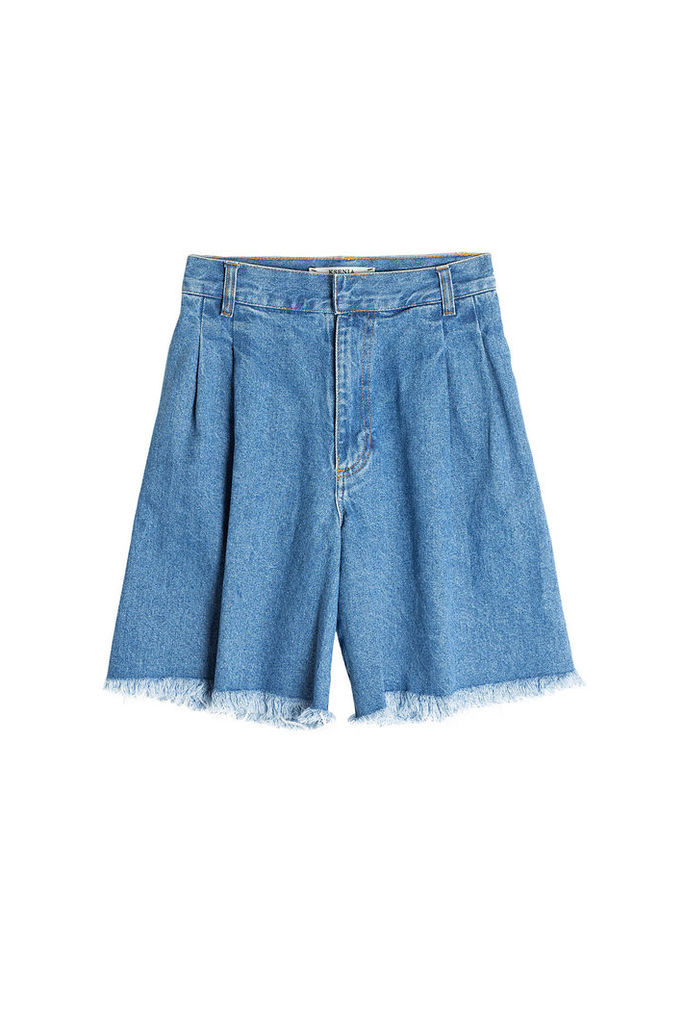 Ksenia Schnaider Denim Cut-Off Shorts
