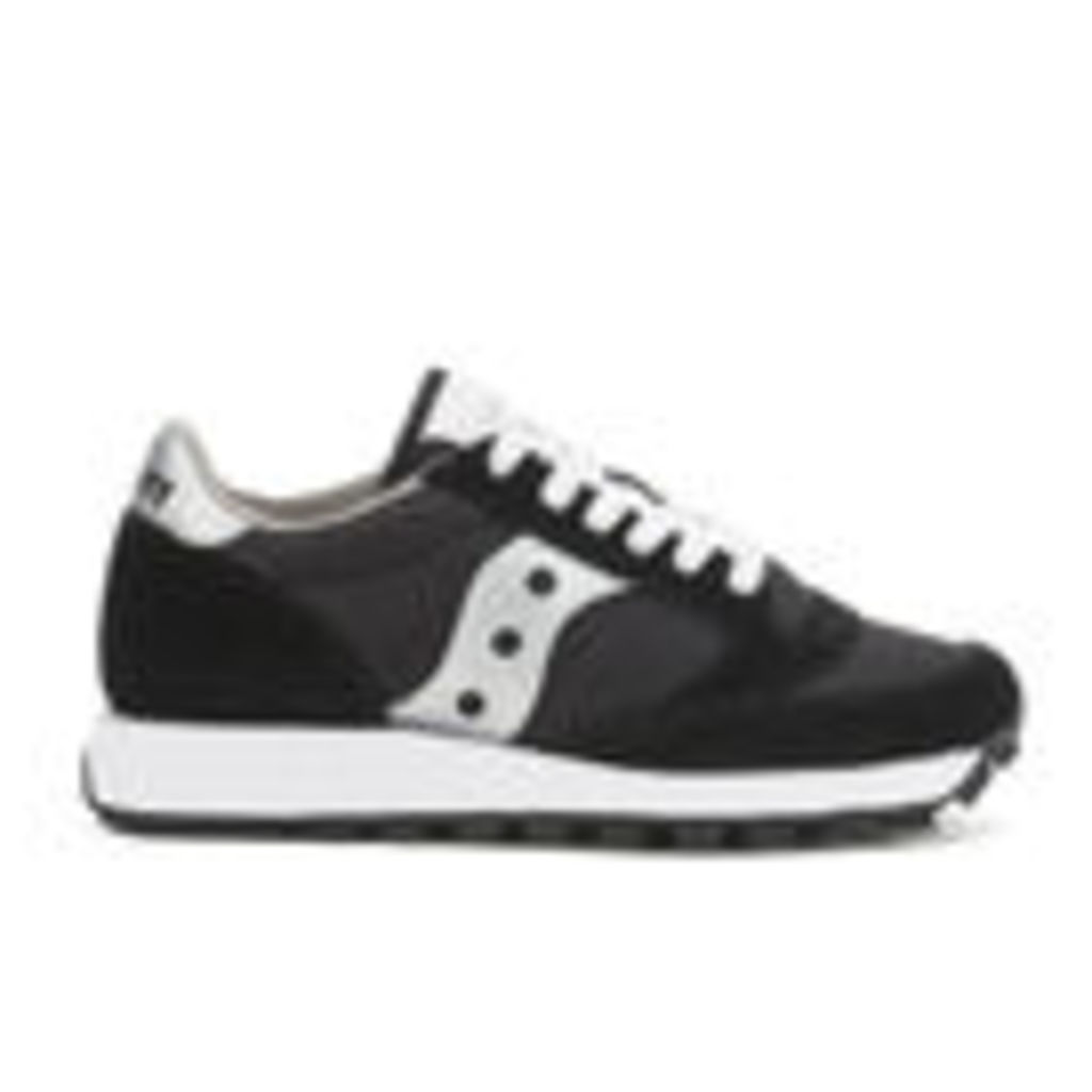Saucony Women's Jazz Original Trainers - Black/Silver - 7