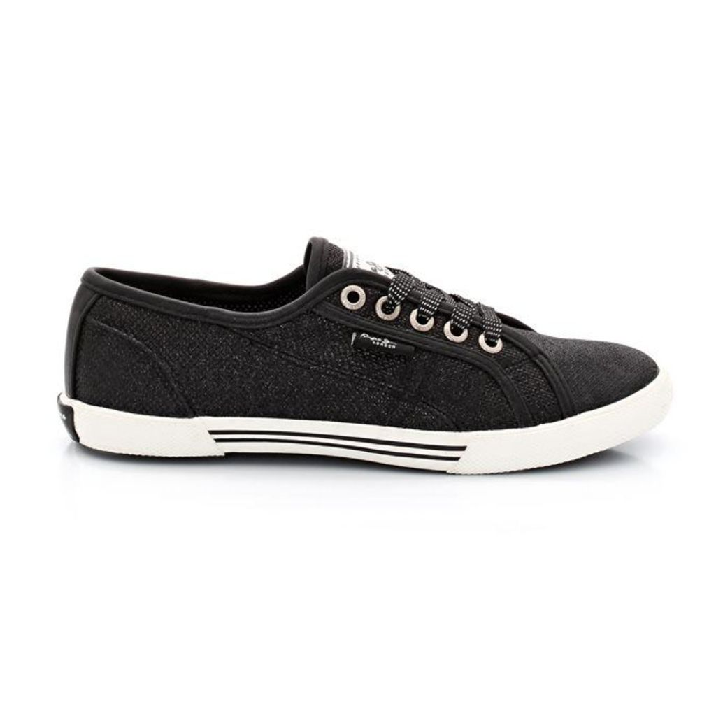 PLS 30179 Low Ankle Lace-Up Trainers