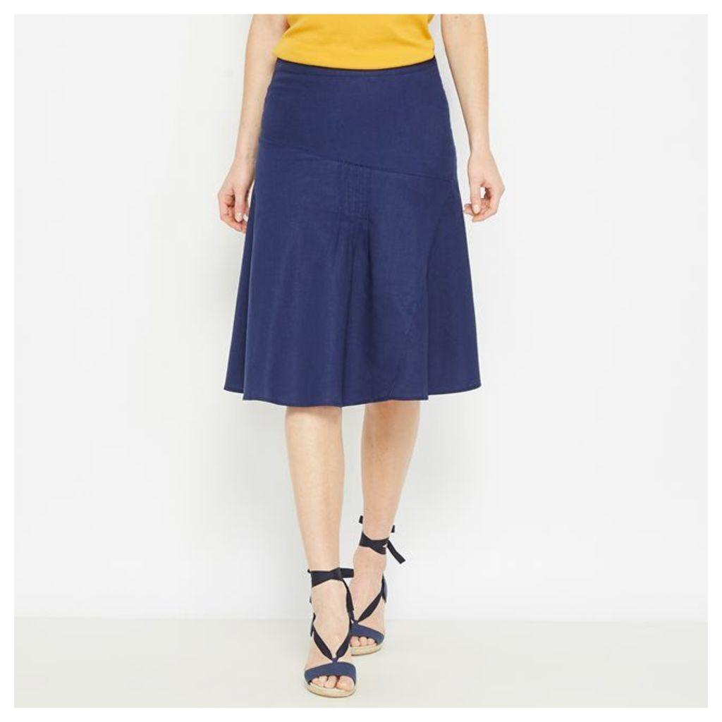Linen Rich Skirt