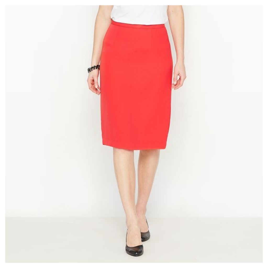 Pencil Skirt in Stretch Twill