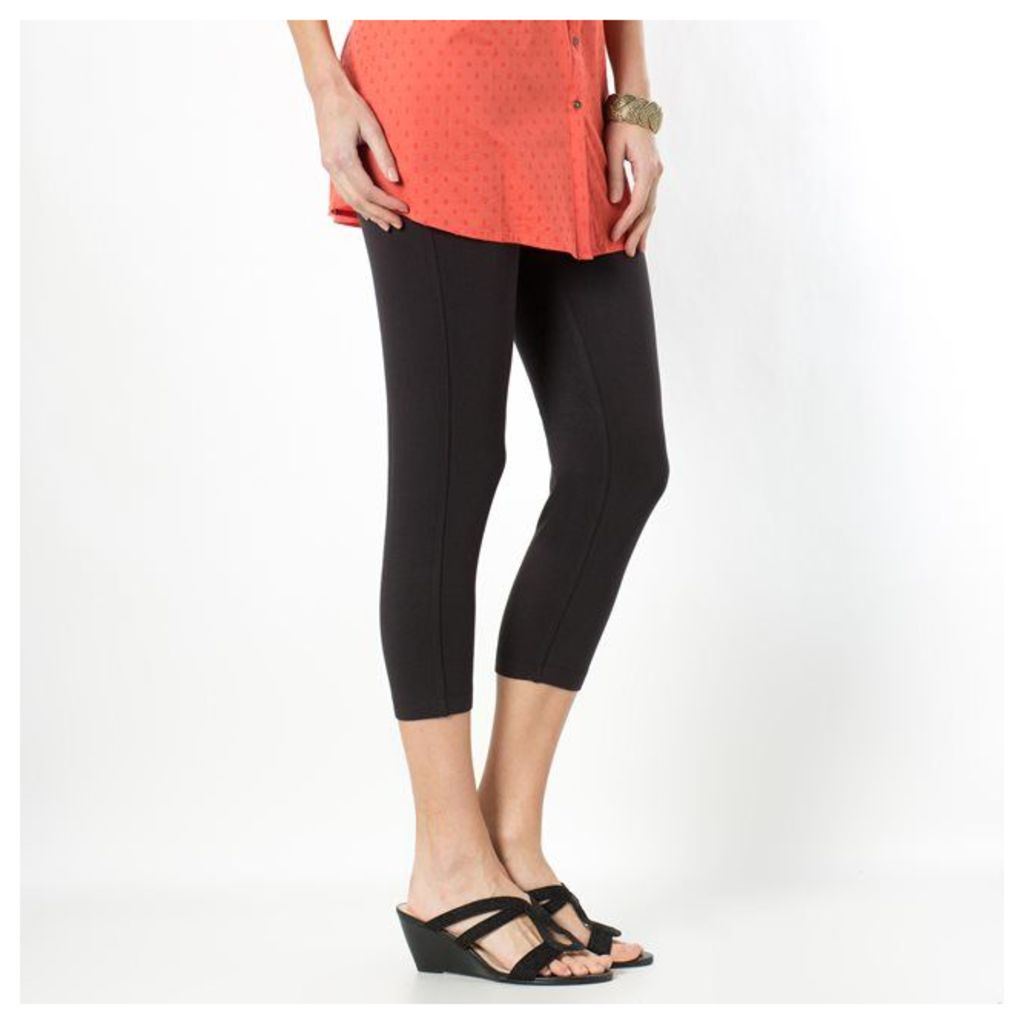 Comfortable Stretch Cropped Leggings