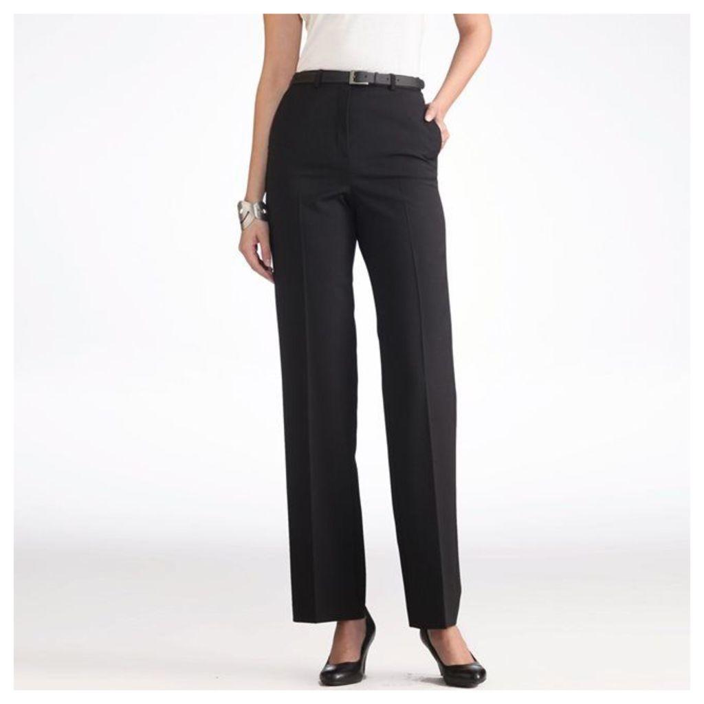 Two-Way Stretch Twill Trousers, Inside Leg 30.5.