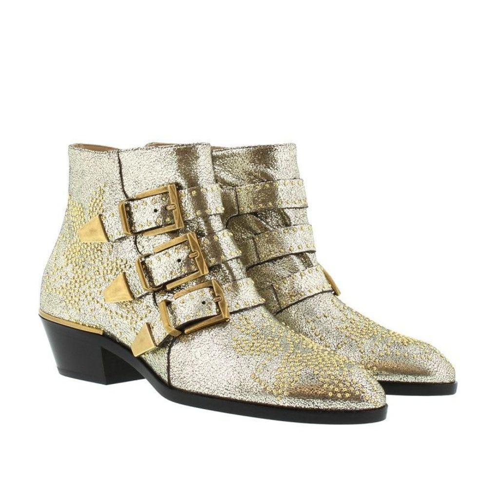 Chloé Boots & Booties - Susanna Boots Foglia Grey Glitter - in silver - Boots & Booties for ladies