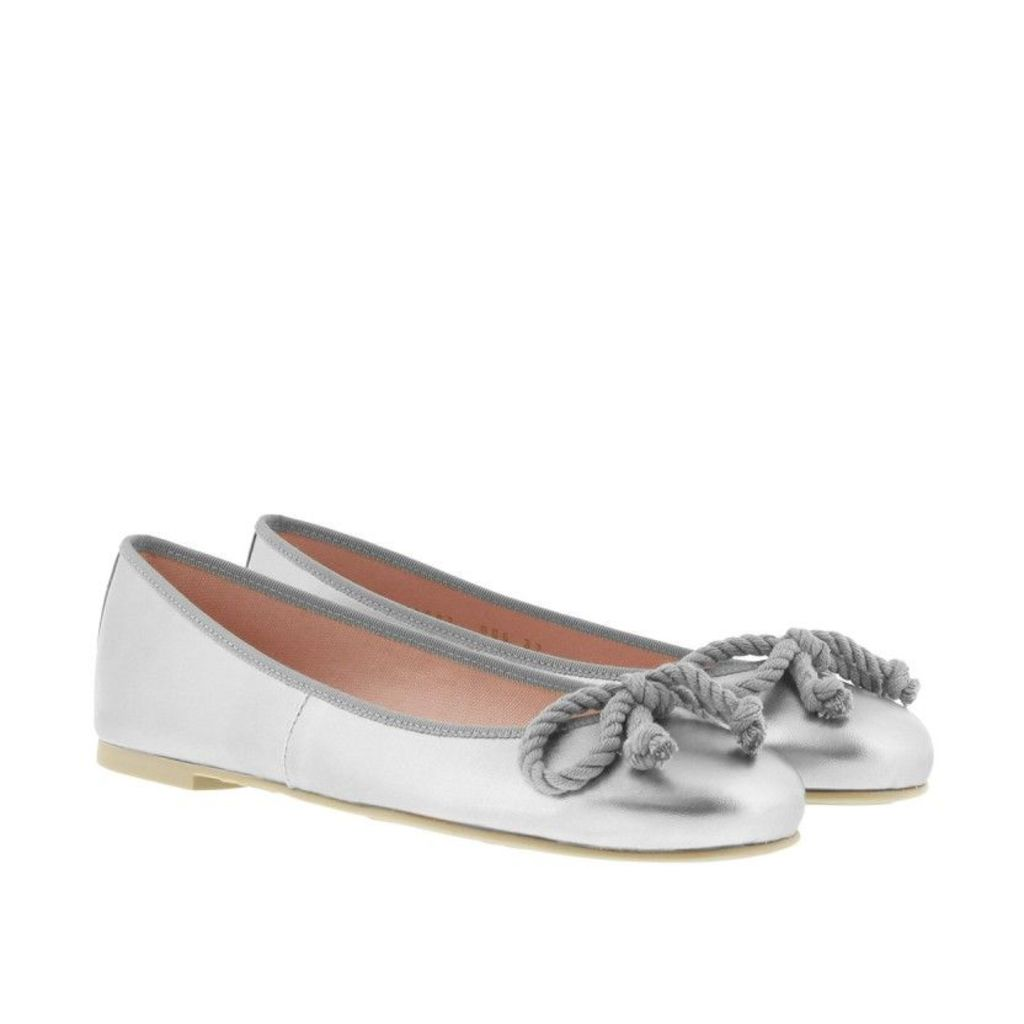 Pretty Ballerinas Ballerinas - Rosario Ballerinas Ami Plata - in silver - Ballerinas for ladies