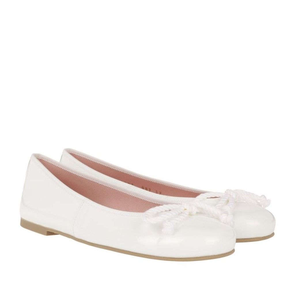 Pretty Ballerinas Ballerinas - Rosario Ballerina Patent Leather Shade Blanco - in white - Ballerinas for ladies