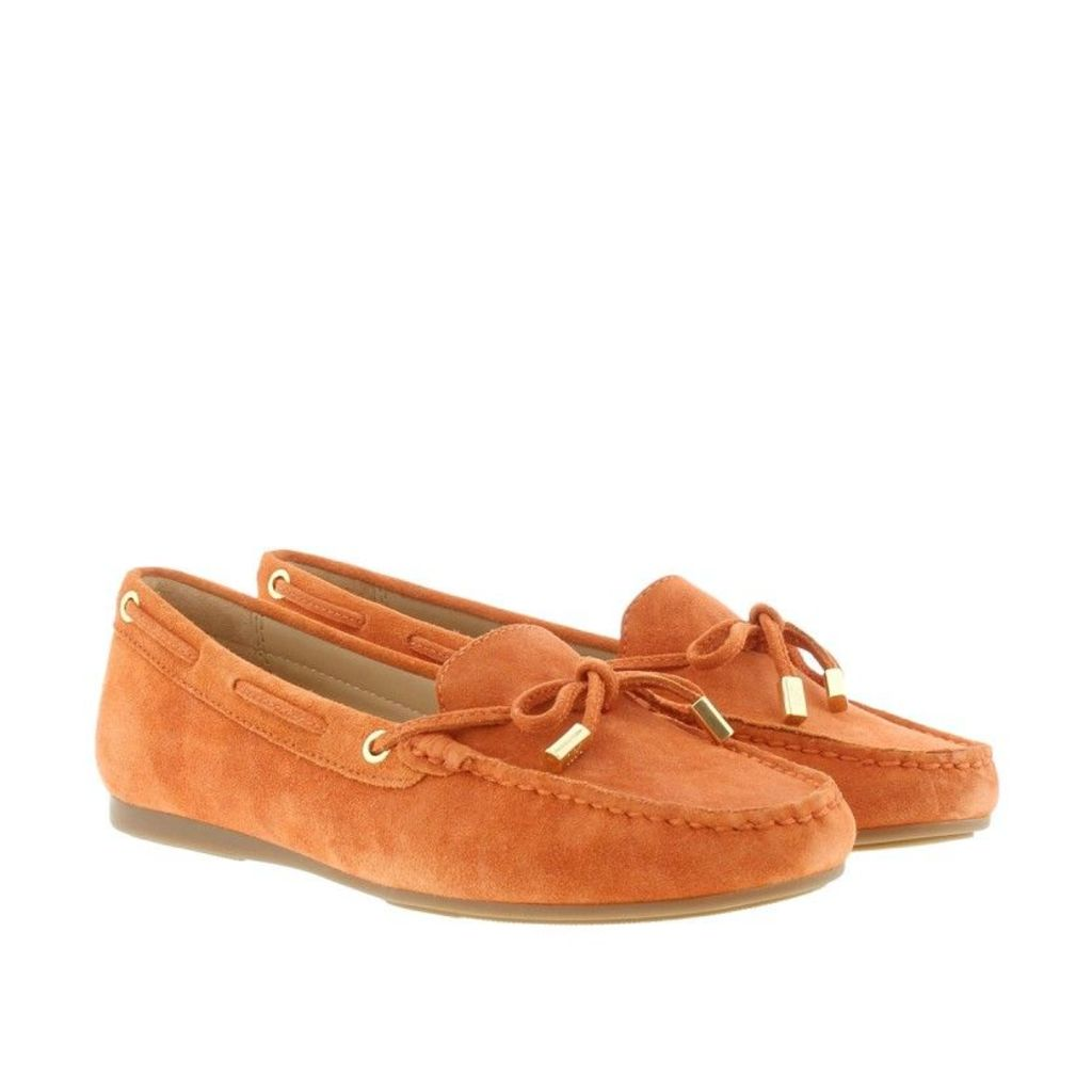 Michael Kors Loafers & Slippers - Sutton Moccasin Suede Orange - in orange - Loafers & Slippers for ladies