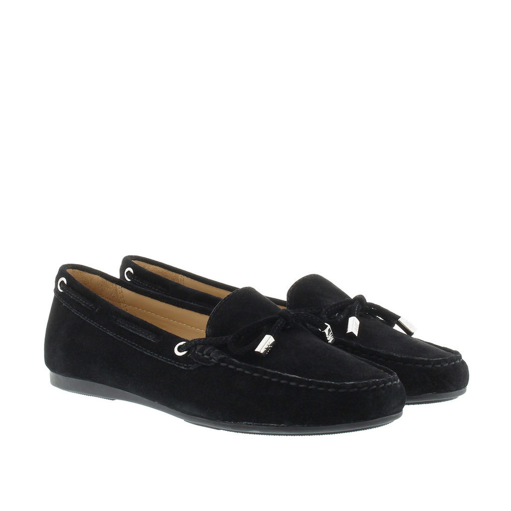 Michael Kors Loafers & Slippers - Sutton Moccasin Suede Black - in black - Loafers & Slippers for ladies