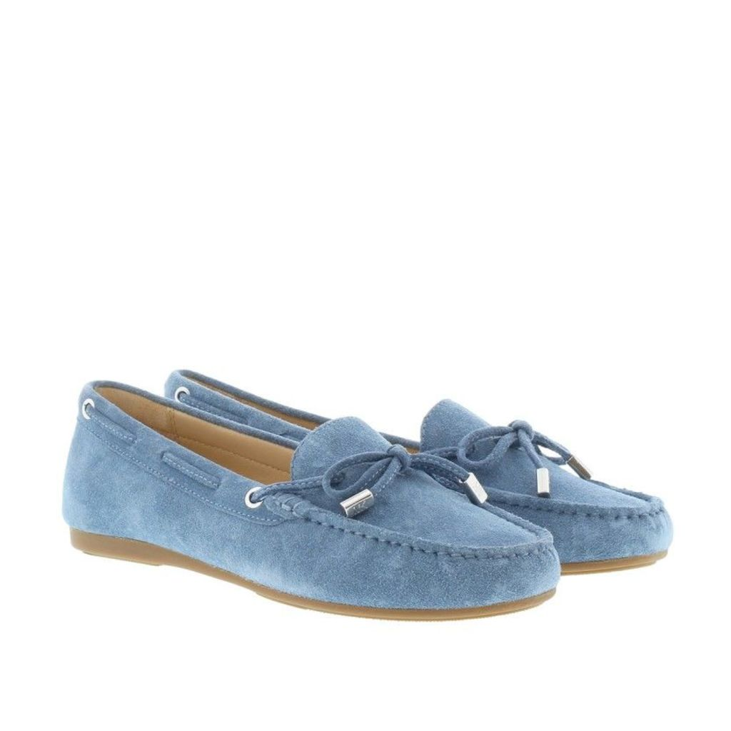 Michael Kors Loafers & Slippers - Sutton Mocassin Suede Denim - in blue - Loafers & Slippers for ladies