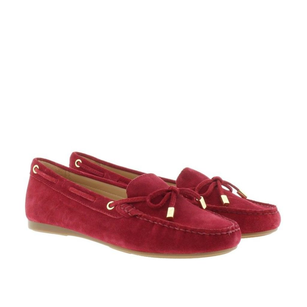 Michael Kors Loafers & Slippers - Sutton Mocassin Suede Cherry - in red - Loafers & Slippers for ladies