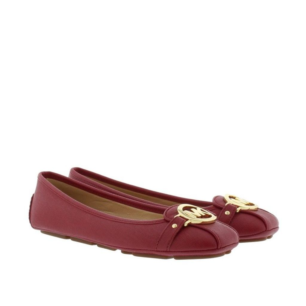 Michael Kors Ballerinas - Fulton Moc Ballerina Cherry - in red - Ballerinas for ladies