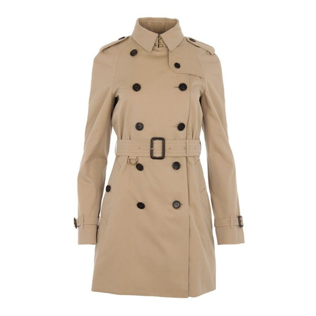 Burberry Coats - Westminster Coat Honey Mid - in beige - Coats for ladies