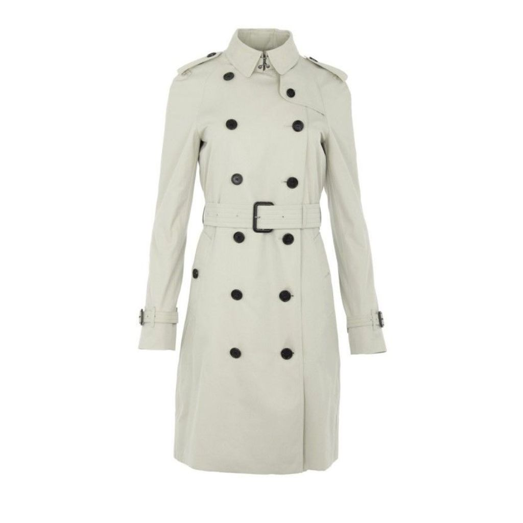 Burberry Coats - Westminster Coat Long Stone - in beige - Coats for ladies