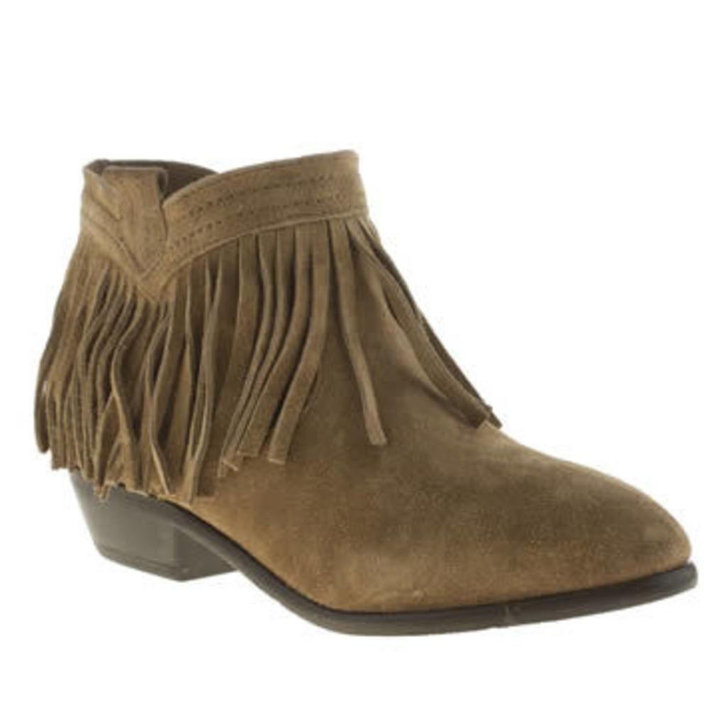 Schuh Tan Hyperactive Womens Boots