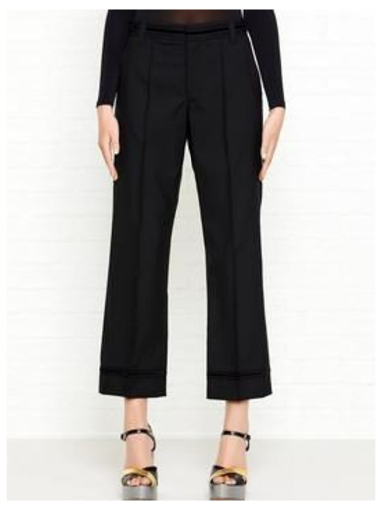 Marc Jacobs Cropped Bowie Pants - Black